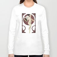 mother of dragons Long Sleeve T-shirts featuring Dragons  by Andrew Formosa