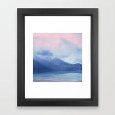 Pastel vibes 60 Framed Art Print