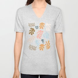 Seaweeds and sand Unisex V-Neck