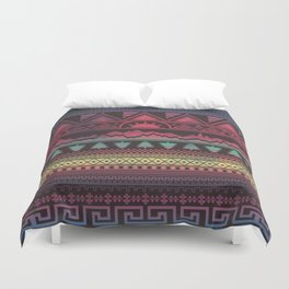 Autunno   Tribal Duvet Cover