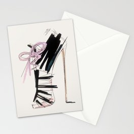 high heel Stationery Cards