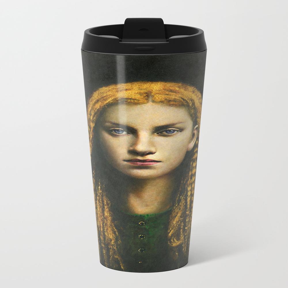 Rapunzel Metal Travel Mug by Foxemporium MTM7992604