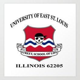 St Louis University Art Print