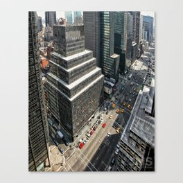 Third from 52nd Canvas Print