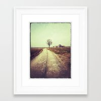 country Framed Art Prints featuring Country by Jessica Morelli