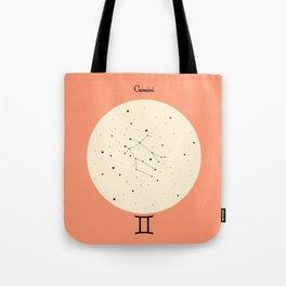 Gemini - Pink Tote Bag