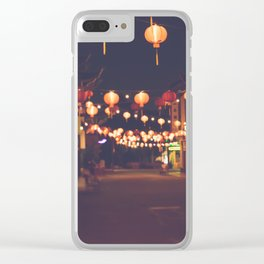 L.A. Chinatown Clear iPhone Case