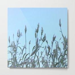 Breezy floral Metal Print