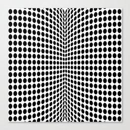 op art - dot rollers Canvas Print