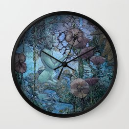 Gaian Forest Wall Clock
