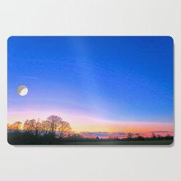 Sunset Over Norwich, U.K Cutting Board