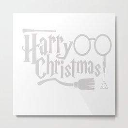 Harry Christmas Metal Print