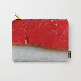 Sandía (rojo y blanco) Carry-All Pouch