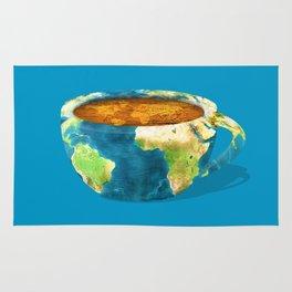 Coffee World Rug