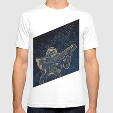 Star Wars Gold Edition Mens Fitted Tee LARGE White