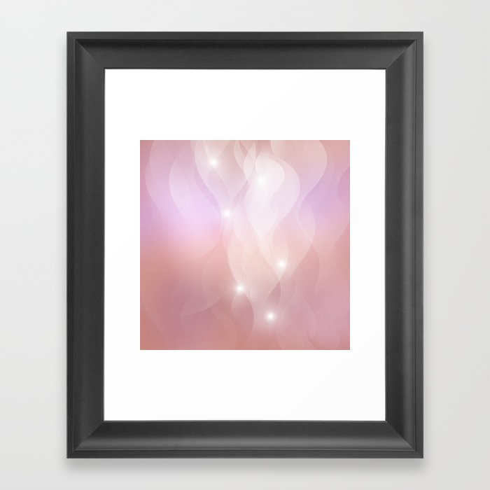 The Sound of Light and Color  Framed Art Print