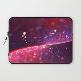 Cowberry Glitter Wave Laptop Sleeve