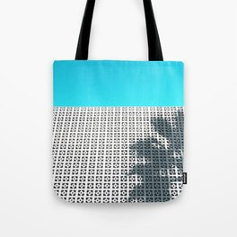 Parker Palm Springs with Palm Tree Shadow Tote Bag