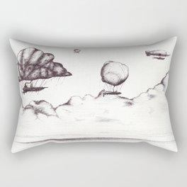 the crossing Rectangular Pillow