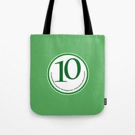 Baked (green-meters) Tote Bag