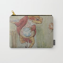 Jeremy Fisher by Beatrix Potter Carry-All Pouch