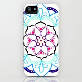 Mandala I - Colour Outline I iPhone Case
