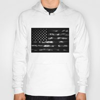 camouflage Hoodies featuring American camouflage by Nicklas Gustafsson