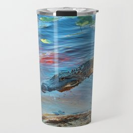 Good Morning Alligator Travel Mug