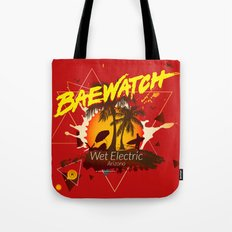 Baewatch - Wet Electric Tote Bag