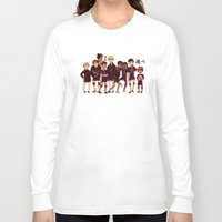 haikyuu Long Sleeve T-shirts featuring FLY by rhymewithrachel