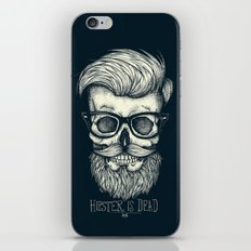 Hipster is Dead II iPhone & iPod Skin