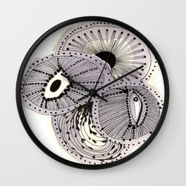 SEA FLOWERS Wall Clock