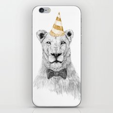 Get the party started (color) iPhone Skin