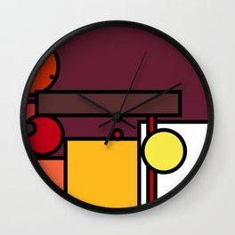 Geometric shape pattern nr 4371572 Wall Clock