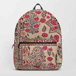 Ura Tube  Antique Tajik Suzani Embroidery Print Backpack