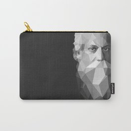 Rabindranath Tagore (7 May 1861 – 7 August 1941) Carry-All Pouch