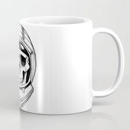Astronaut skull Coffee Mug