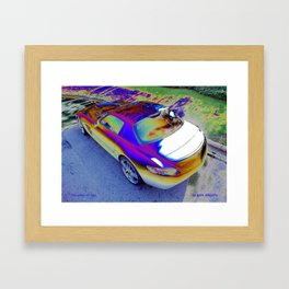 The colour of love  Framed Art Print