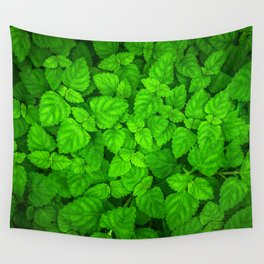 Deep Forest Leaves. Wall Tapestry