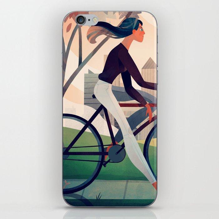 Bike Ride iPhone Skin