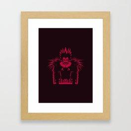 God of Death Framed Art Print