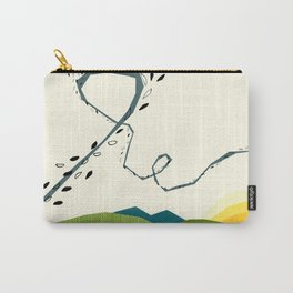 wind blown Carry-All Pouch