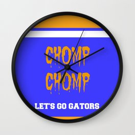 CHOMP CHOMP Wall Clock