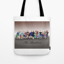 The Barkers Tote Bag