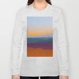 Sunset in Rhodes Long Sleeve T-shirt