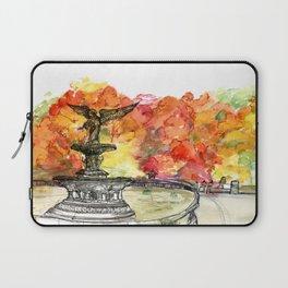 Central Park: Bethesda Fountain Laptop Sleeve