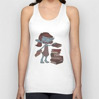 books Tank Tops featuring Books! by Marmota Minima