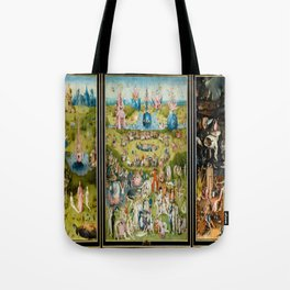 Hieronymus Bosch's The Garden of Earthly Delights Tote Bag