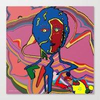 le petit prince Canvas Prints featuring le petit prince 2 by Stéphanie Delaine Melusine