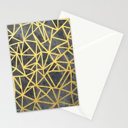 Ab Marb Gold Stationery Cards